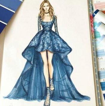 Sketches Of Fashion Design screenshot 2
