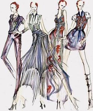 Sketches Of Fashion Design screenshot 3