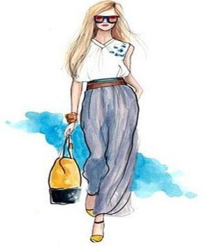 Sketches Of Fashion Design screenshot 6