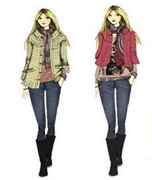 Sketches Of Fashion Design screenshot 7