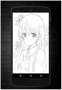 Manga Drawing Sketch screenshot 3