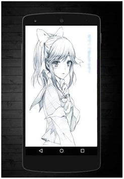 Manga Drawing Sketch screenshot 4