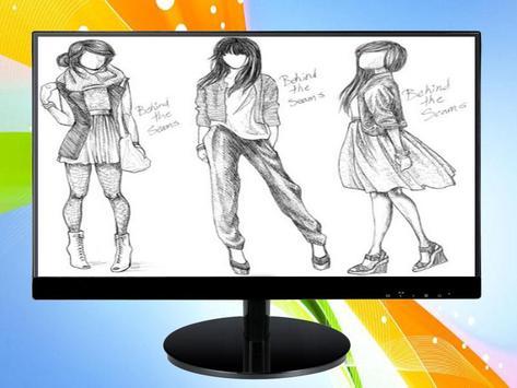 Sketch Designing Clothes screenshot 4