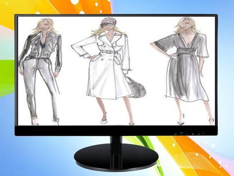 Sketch Designing Clothes screenshot 5