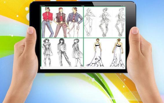 Sketch Designing Clothes screenshot 2