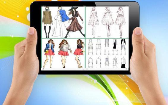 Sketch Designing Clothes screenshot 3