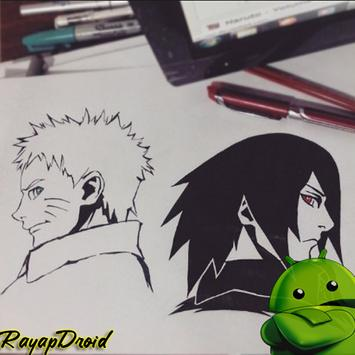 Learn to Draw the Best Naruto Sketches apk screenshot