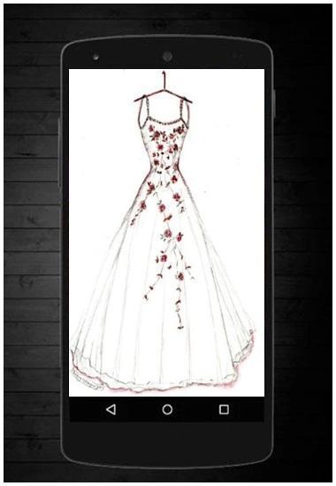 Sketsa Desain Gaun Pernikahan For Android Apk Download