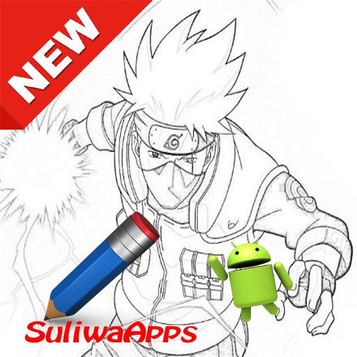 Easy Learning Draw Sketch Naruto For Android Apk Download