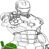 Sketch of The Best Anime Iron Man icon