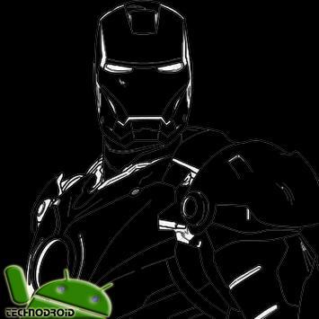 Sketch of The Best Anime Iron Man apk screenshot