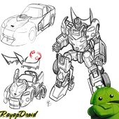 Learn to Draw a Robot Sketch icon