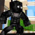 Black Phanter Skin for MCPE