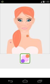 skin and face care game screenshot 2