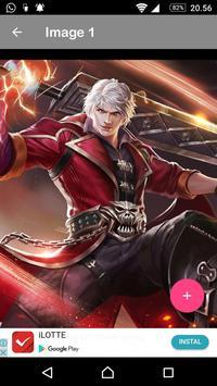 Wallpaper Hero Mobile Legends  HD Free screenshot 10
