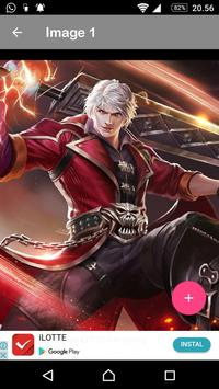 Wallpaper Hero Mobile Legends  HD Free screenshot 4