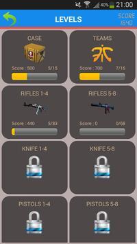 CS GO Skins,Case,Teams Quiz screenshot 1