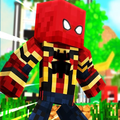 Spiderman skin for MCPE - Avengers Infinity