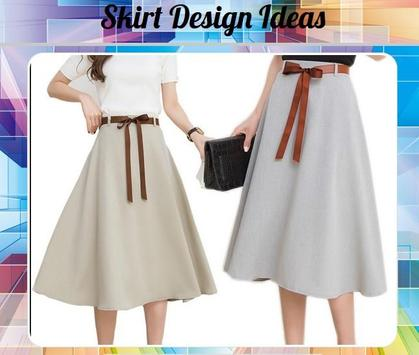 Skirt Design Ideas poster