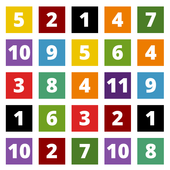 Color Number Blocks icon