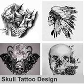 Skull Tattoo Design icon