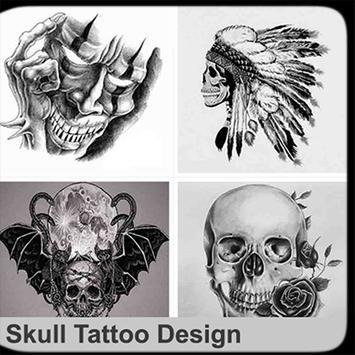 Skull Tattoo Design poster