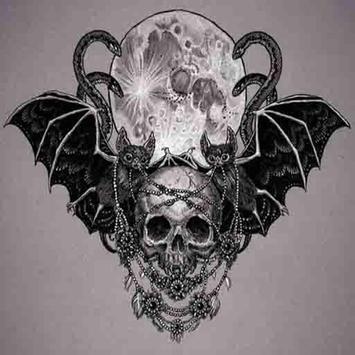 Skull Tattoo Design apk screenshot