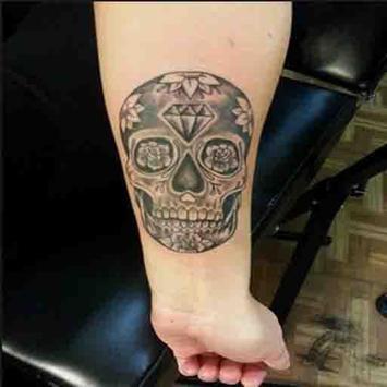 Skull Tattoo Design For Men screenshot 3