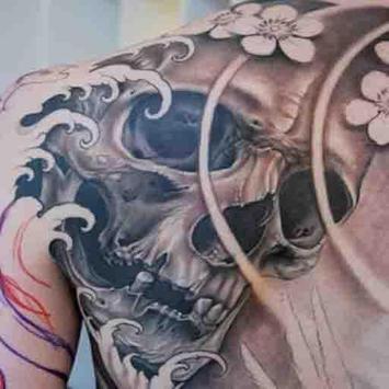 Skull Tattoo Design For Men screenshot 4