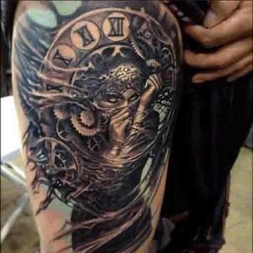 Skull Tattoo Design For Men screenshot 6