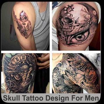 Skull Tattoo Design For Men screenshot 8