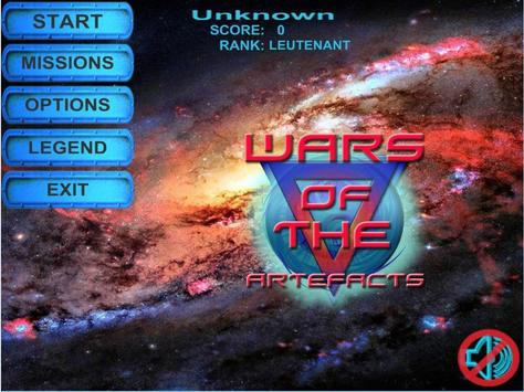Wars of the artefacts poster