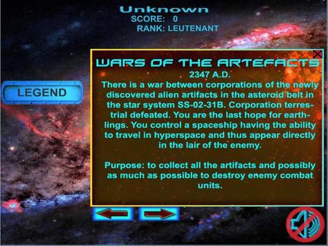 Wars of the artefacts screenshot 1