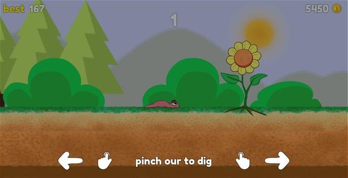 Dashy Worm screenshot 1
