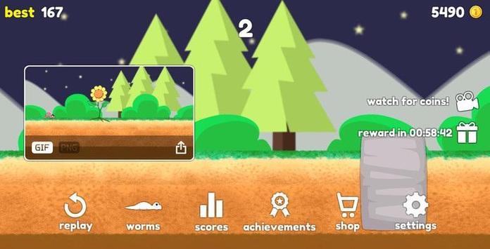 Dashy Worm screenshot 3