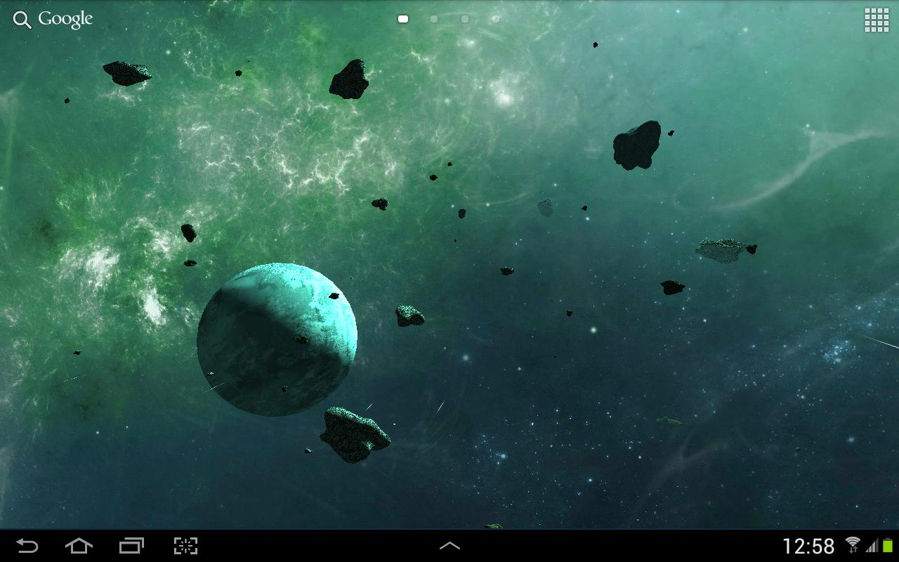 3d Live Wallpapers Free Download For Ipad: Asteroids 3D Live Wallpaper APK Download