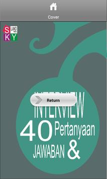 Interview 40 Pertanyaan & Jwbn poster