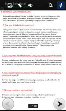 Interview 40 Pertanyaan & Jwbn apk screenshot