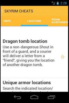Cheats for Skyrim APK Download Free Action GAME for Android