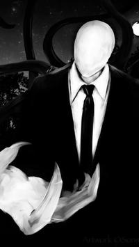 Slenderman Wallpaper Poster Apk Screenshot