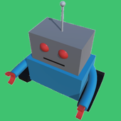 Funky Robot - Power Hover Maze icon