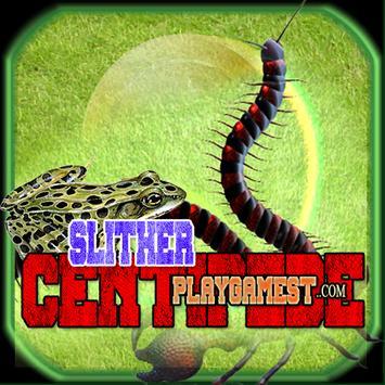 Slither CENTIPEDE poster