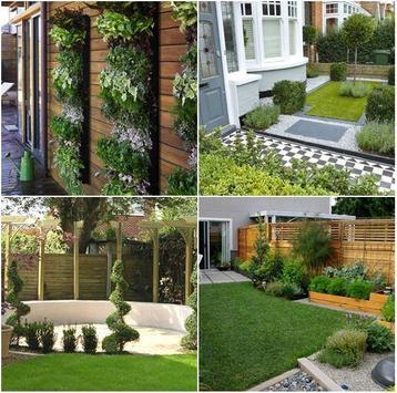 Small Garden Design Ideas poster