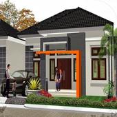 small house design icon