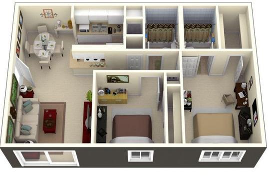 3D Small House Design screenshot 4