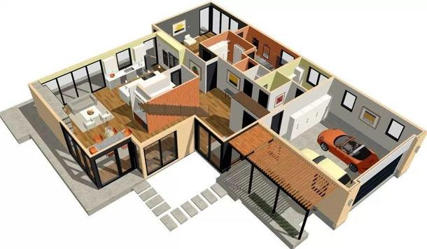 3D Small House Design poster