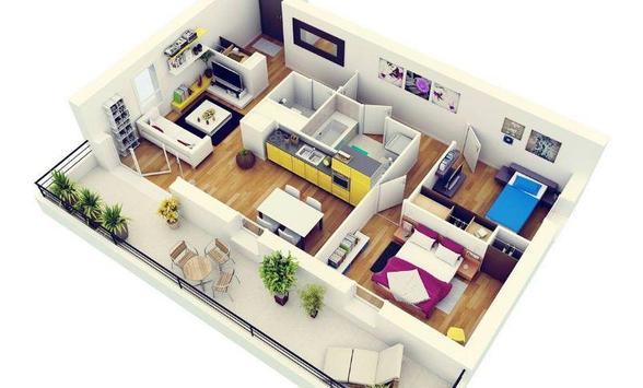 3D Small House Design screenshot 1