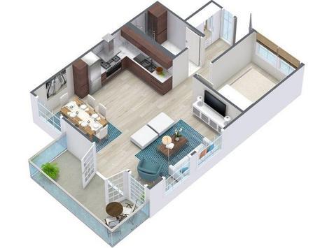3D Small House Design screenshot 2