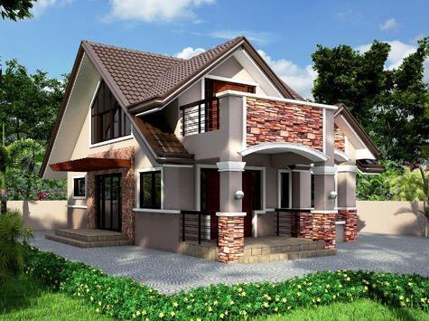 Small House Exterior Design screenshot 4
