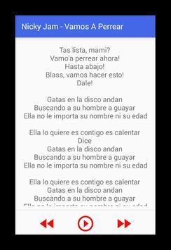 Nicky Jam hasta el amanecer ! screenshot 1